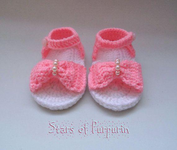 Sandalias Audrey para Bebé  Bebé Niña Patucos por StarsOfPurpurin