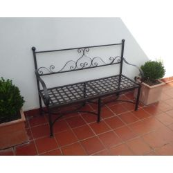 Bench Stainless Steel Wrought Iron. Customize Realizations. 450