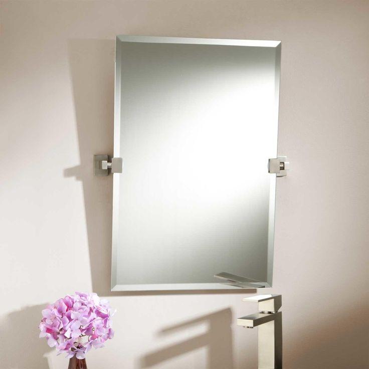 Gallery For Website Tilt Bathroom Mirror Rectangular