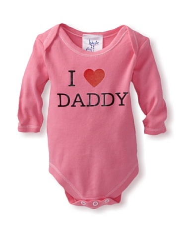 "50% OFF Haute Stuff Baby ""I Love Daddy"" Bodysuit (Bubblegum)"