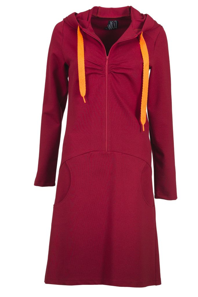 Meet Mrs Hood, the red beauty with neon orange details. No doubt a real closet favourite.