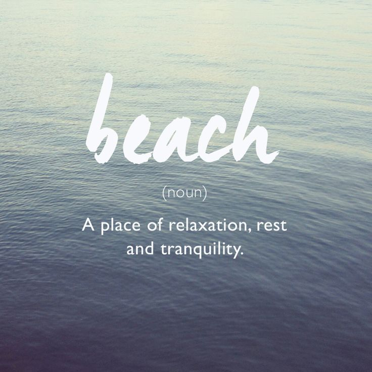 #beach well-defined: Just chill out!