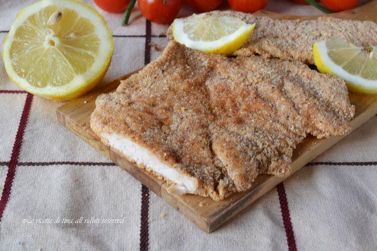 Petto di pollo impanato al forno un secondo piatto leggero e saporito