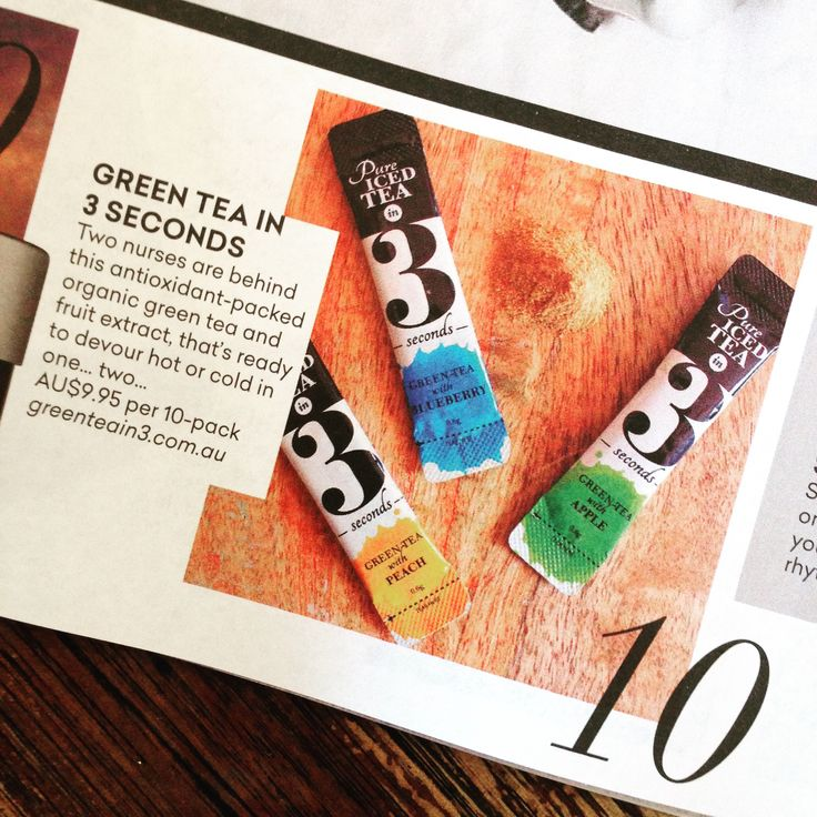 60 MIXED SACHETS (Monthly Subscription) | Green Tea in 3
