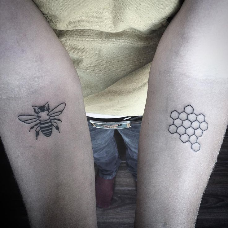 """""""A honey bee and honeycomb for a lovely bee keeper"""""""