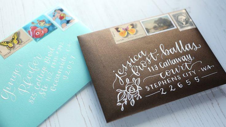 1000 Ideas About Address Envelopes On Pinterest