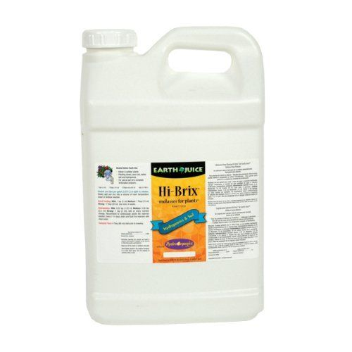 HydroOrganics HOF08305 Earth Juice Hi-Brix MFP Germination Kit, 2-1/2-Gallon by HydroOrganics. $55.16. Indoor or outdoor plants. Specifically tailored into liquid formula. Highly recommended for plant teas. Rare molasses for plants. Natural source of carbohydrates. This rare and highly prized molasses is a natural source of carbohydrates (sugars) and plant nutrients that have been specially tailored into liquid formulation for indoor and outdoor plants in soil and hydr...