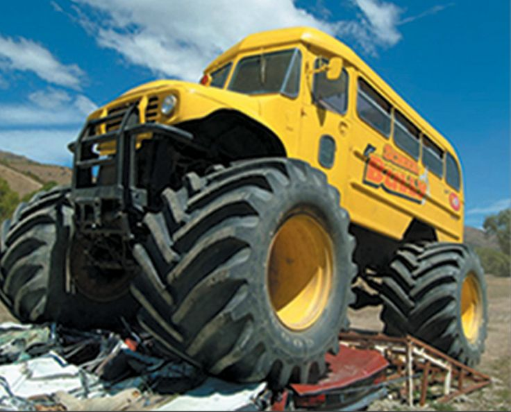 monster truck Wanaka