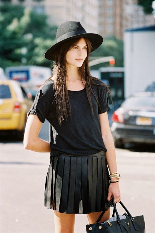 how to wear leather pleats 101