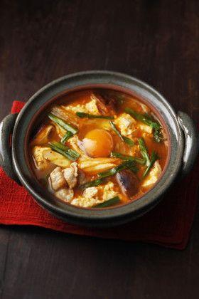 純豆腐チゲ(スンドゥブチゲ)