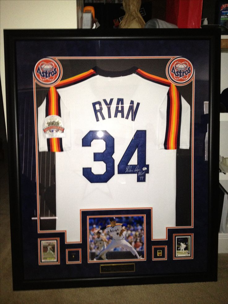 55 Best Framed Jerseys Amp Shadow Boxes Images On Pinterest