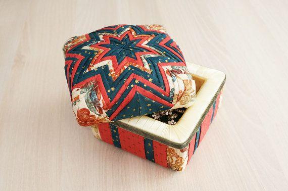 Handmade jewelry box with artichoke technique by MorozDesign