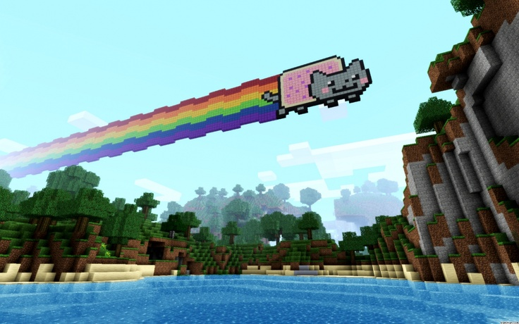 Pin by Joseph Meyers on Minecraft Ideas Nyan cat, Cat