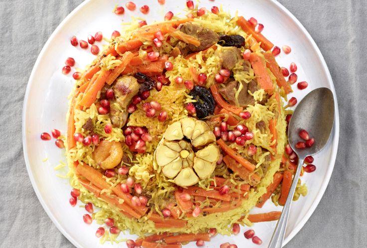 Il plow è un piatto tipico dell'Uzbekistan. E' anche noto come riso delle feste alla frutta secca.E' una ricetta assai ricca a base di agnello, riso, frutta secca e spezie. Il suo sapore che combina dolce e salato è piacevolissimo.In Uzbekistan questa preparazione è riservata ai momenti di festa.A dare il tocco finale sono i …
