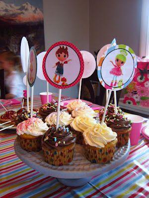 Damn Good Food Lalaloopsy Birthday Party With Free Printables
