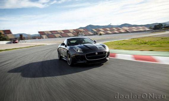 Купе Ягуар F-Type R / Jaguar F-Type R 2014