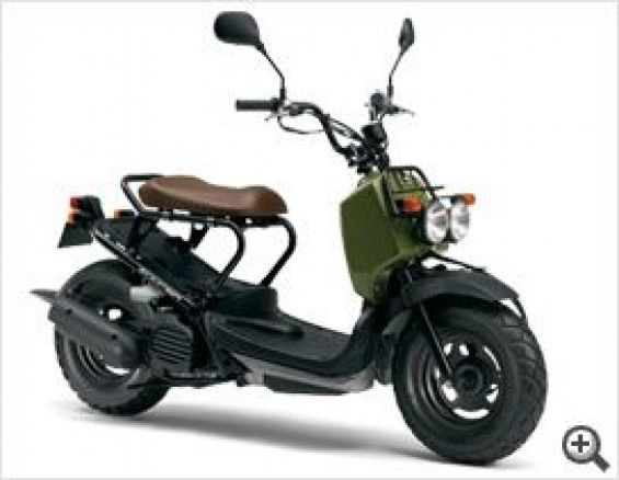 Army Green Zoomer Japan Scooter Scooter Scooter Men Mini