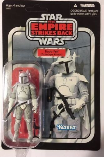 Star Wars Vintage Collection Mail Away Boba Fett Proto Type Mail Away. In Box