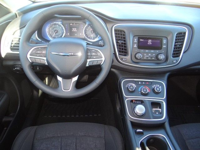 2015 Chrysler 200 with black interior, Chapman Las Vegas.