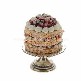 1:12th scale miniature pavlova from The English Kitchen ... UK
