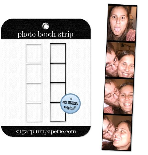 Basic Photo Booth Strip Template Fun For Parties And Take Aways