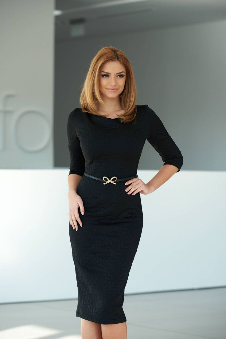 StarShinerS Ladylike Black Dress