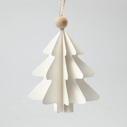 12523 Gevouwen kerstbomen