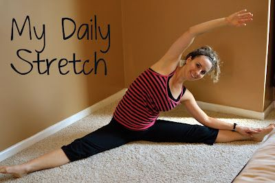 My daily stretching routine, less than 5 minutes that helps decrease muscle soreness, increase flexibility, and improve my overall health.