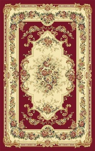 Starting at $25 Free Shipping Area Rugs| Discount Rugs| Carpet|Traditional Rugs| Modern Rugs – Bargain Area Rugs 1057 Red