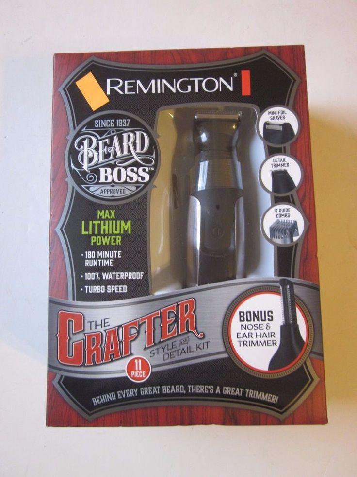 Remington Beard Boss Style & Detail Kit NEW Shaver Trimmer #Remington