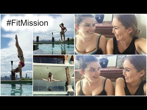 FitMission : The Very Beginning : + being dorks in the pool - YouTube