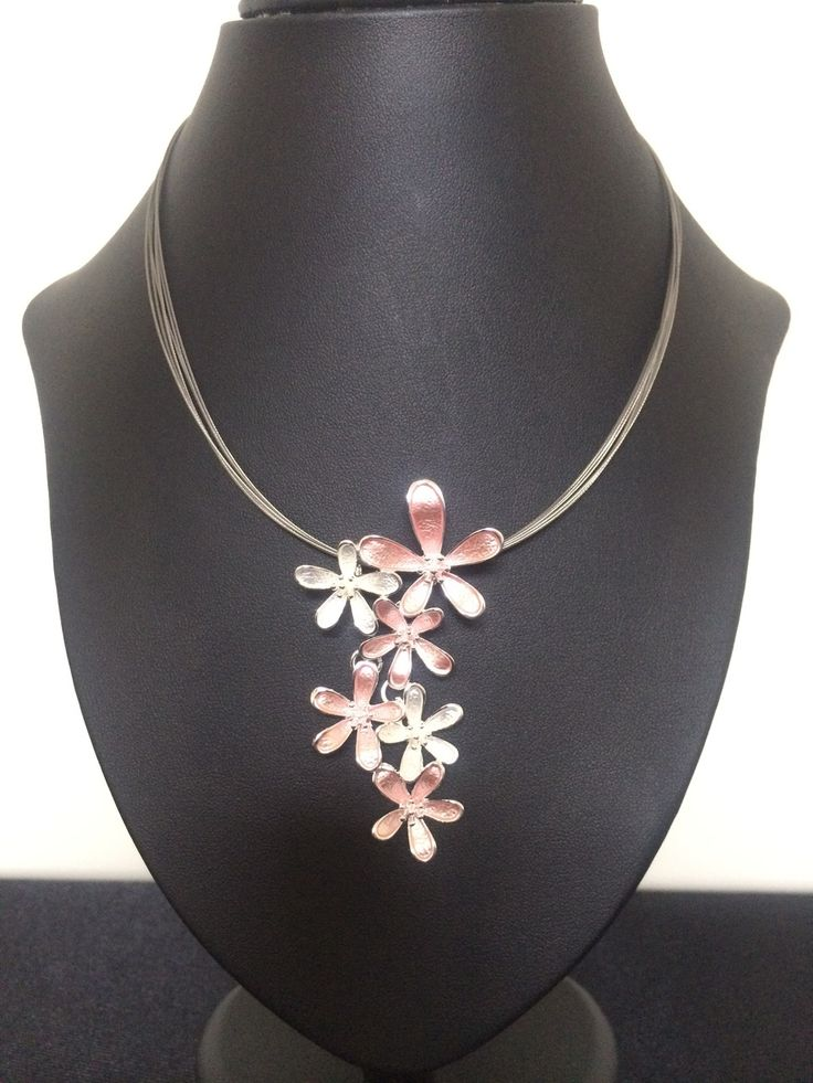 Unique Fashion Jewellery Australia - Pink Spring Flowers Necklace , $47.00 (http://www.uniquefashionjewellery.com/pink-spring-flowers-necklace/)