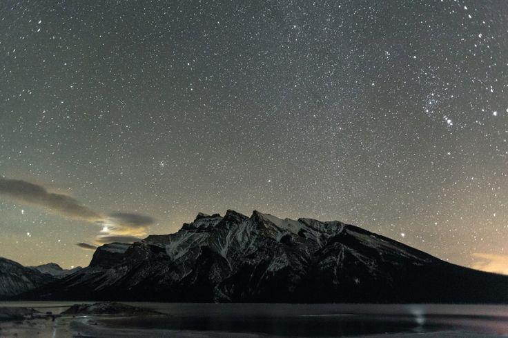Stars over Lake Minnewanka, AB ➾ Luke Gram