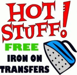 Design and print custom tee shirts, crafts, fabric labels, temporary tattoos and home decor with printable iron on transfers.