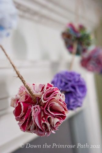 Gorgeous Garlands Beautiful Buntings Over 25 great DIY's