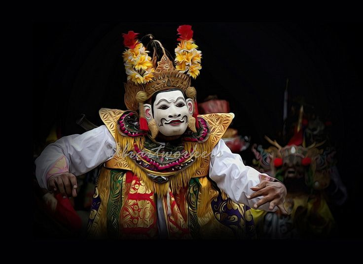 Wayang Wong - BALI performance art:
