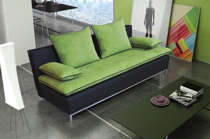 Moderní pohovka Riko zaujme svým minimalistickým designem v černé eko kůži, který je zkombinován s pohodlným sedákem, jenž celkový dojem zjemňuje. Sedák s...