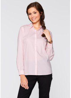 Camicia a maniche lunghe, bpc bonprix collection, Rosa chiaro