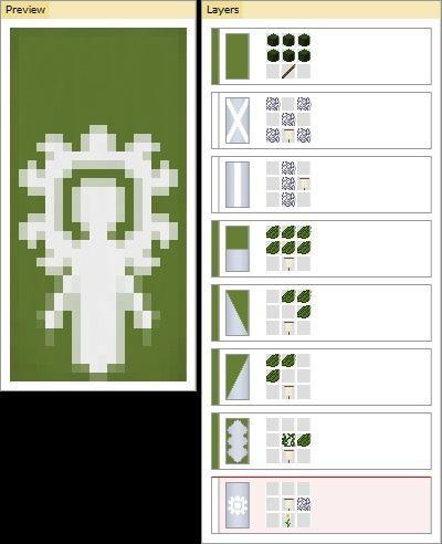 схемы дя флагов в майнкрафте #6