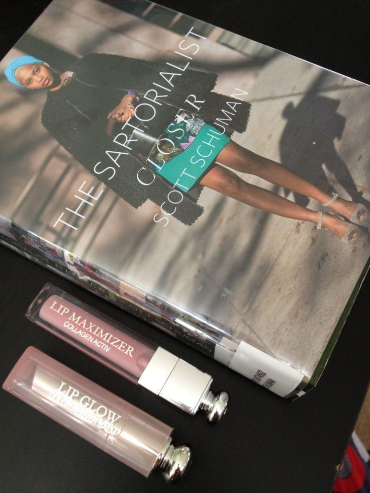 Dior Lip Glow, Dior Lip Maximizer, The Sartorialist Closer