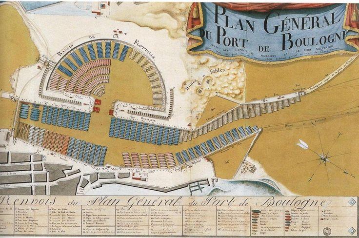 Bateau canonnier de la flottille de Boulogne 1803 - Histoire