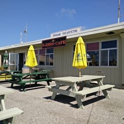 Photo of 3-Zero Cafe - Half Moon Bay, CA, United States. Sit outside during September.  The weather is perfect. Hawks and  turkey vultures soar overhead along with the planes flying in.