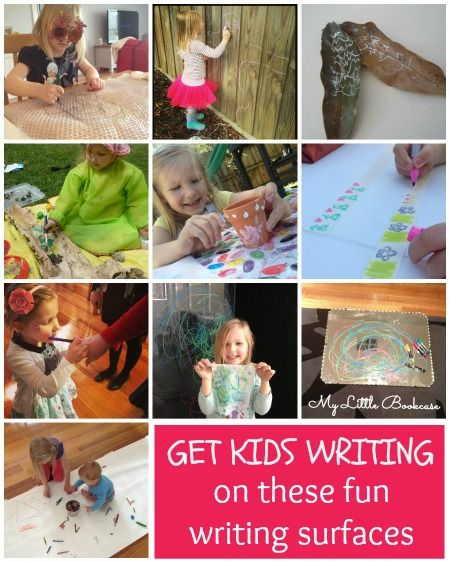 A list of fun writing surfaces for children_ My Little Bookcase