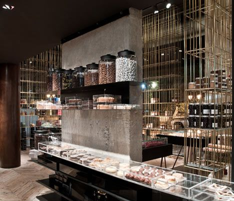 'Sweet Alchemy' pastry shop in Athens Greece by Kois Associated Architects - This is somewhere I'd like to visit.