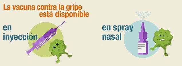 ¡Vacúnate — la temporada de la #gripa ya comenzó!