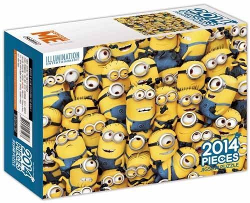 Despicable Me Minions Characters 2014 pieces Toy Jigsaw Puzzles WagleWagle #DespicableMe