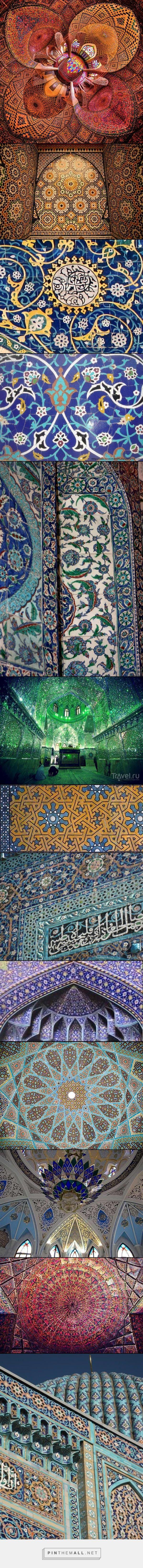 Ислам. Мозаики в мечетях.- created via http://pinthemall.net