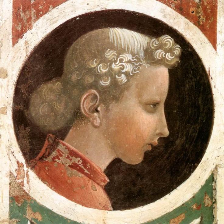 Paolo Ucello (1397 – 1475) - Tondo con testa virile, 1435.