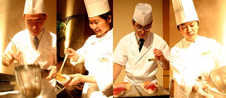 宴会プラン:ライブ・キッチン | 箱根・湯本 湯本富士屋ホテル