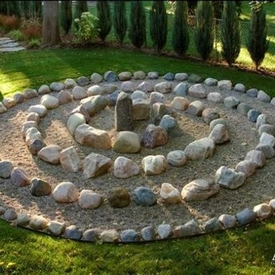 389 best Labyrinth Gardens images on Pinterest | Mandalas, Circles Garden Labyrinth Designs Easy on simple labyrinth design, easy prayer labyrinth designs, outdoor labyrinth design,